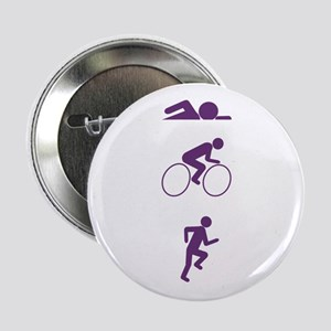 "Triathlon Sports 2.25"" Button"