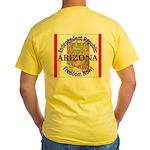 Arizona-3 Yellow T-Shirt
