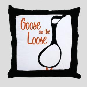 New Goose Throw Pillow
