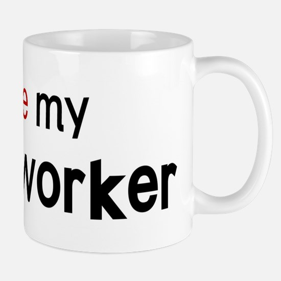 I love my Postal Worker Mug