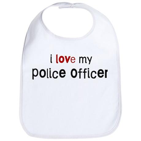 I love my Police Officer Bib