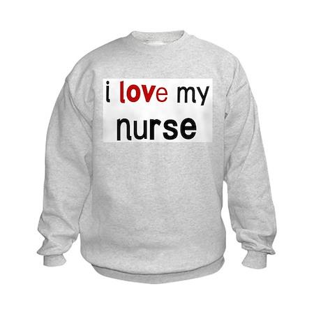 I love my Nurse Kids Sweatshirt