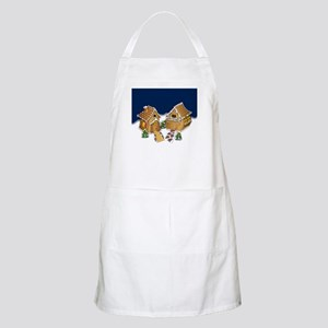 Gingerbread Houses BBQ Apron