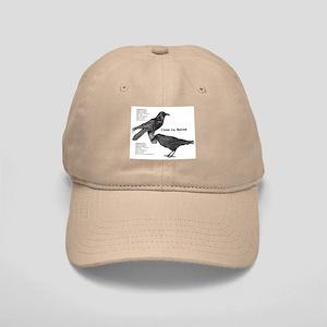 Crow vs. Raven Cap