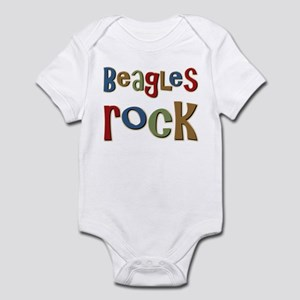 Beagles Rock Dog Owner Lover Infant Bodysuit