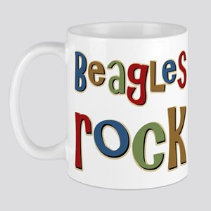Beagles Rock Dog Owner Lover Mug