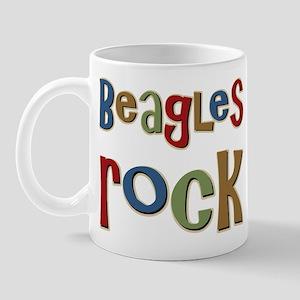 Beagles Rock Dog Owner Lover Mug
