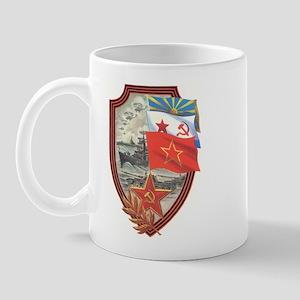 Soviet Union Military Flag Mug