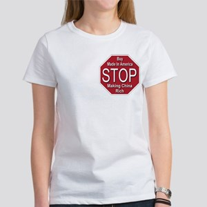 STOP Making China Rich Women's T-Shirt