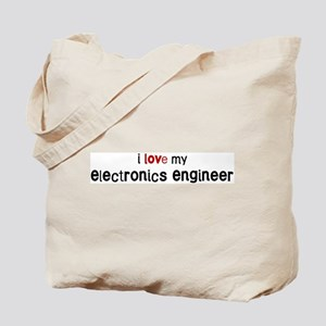 I love my Electronics Enginee Tote Bag