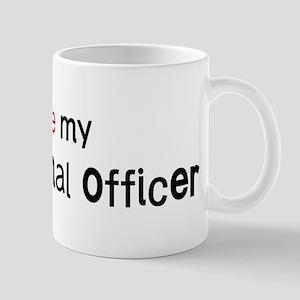 I love my Correctional Office Mug