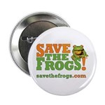 "SAVE THE FROGS! 2.25"" Pin - Great for Schoolb"