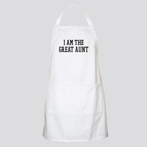I am the Great Aunt BBQ Apron