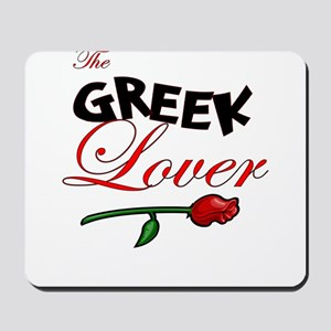 The Greek Lover Mousepad