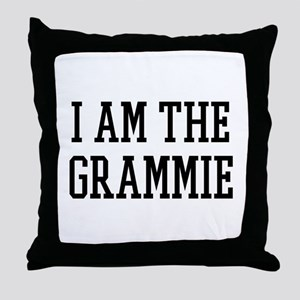I am the Grammie Throw Pillow