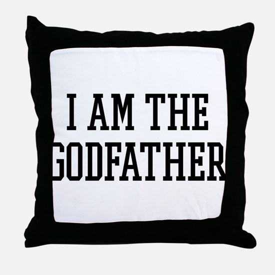 I am the Godfather Throw Pillow