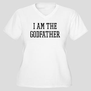 I am the Godfather Women's Plus Size V-Neck T-Shir