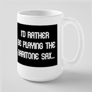 Musicolicious Baritone Saxophone Large Mug