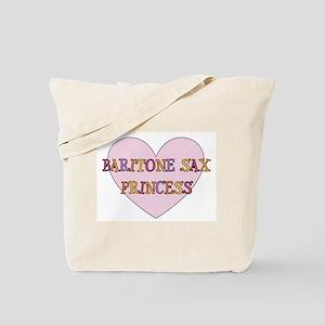 Musicolicious Baritone Saxophone Tote Bag