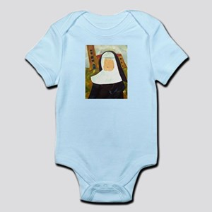 NUN WITH A PEARL EARRING Infant Bodysuit