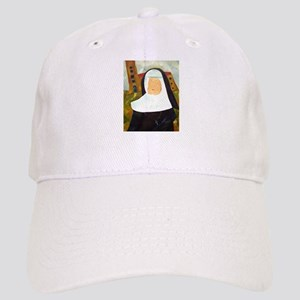 NUN WITH A PEARL EARRING Cap