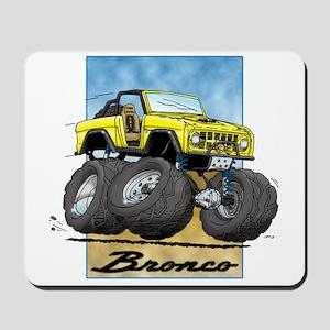 Early Bronco Mousepad