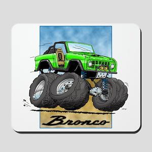 Green Early Bronco Mousepad