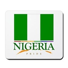 Nigeria Pride Flag Mousepad