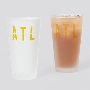 ATL - Atlanta USA Airport Code Souv Drinking Glass