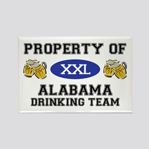 Property of Alabama Drinking Team Rectangle Magnet