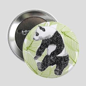 """Vintage Panda Bear 2.25"""" Button"""