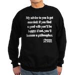 Socrates 14 Sweatshirt (dark)