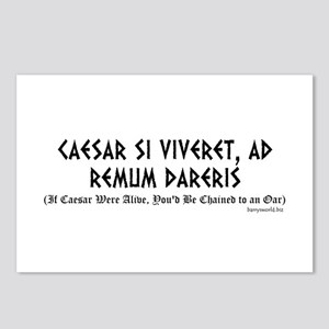Caesar Si Viveret Postcards (Package of 8)