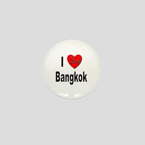 I Love Bangkok Thailand Mini Button