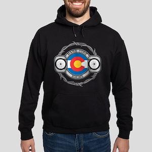 Colorado Biking Hoodie (dark)