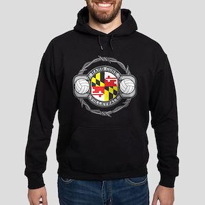 Maryland Volleyball Hoodie (dark)