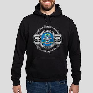 North Dakota Hockey Hoodie (dark)