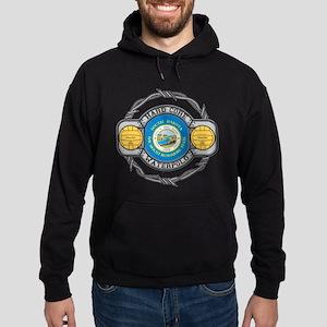 South Dakota Water Polo Hoodie (dark)