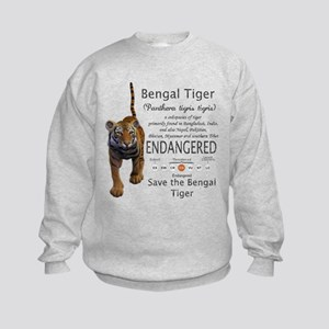 Bengal Tiger Kids Sweatshirt