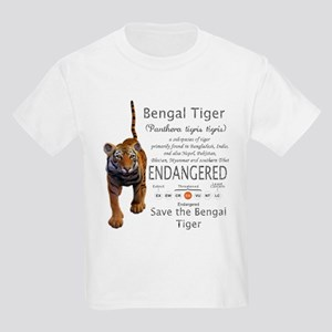 Bengal Tiger Kids Light T-Shirt