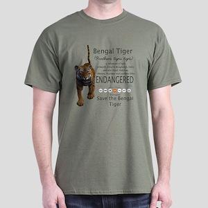 Bengal Tiger Dark T-Shirt