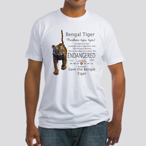 Bengal Tiger Fitted T-Shirt