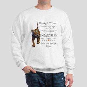 Bengal Tiger Sweatshirt