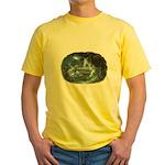 Visit at Moonlight Yellow T-Shirt