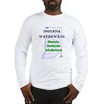 Indiana Waterways Long Sleeve T-Shirt