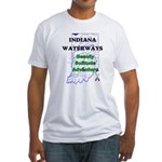 Indiana Waterways Fitted T-Shirt