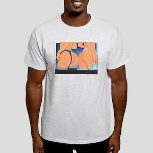 Hot Sexy Lesbian Butts Light T-Shirt