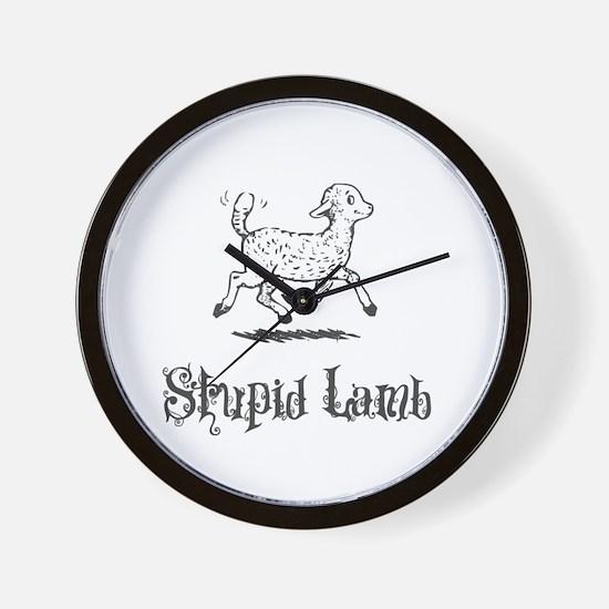 Twilight - Stupid Lamb Wall Clock