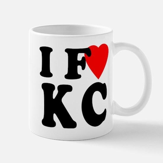 I Fart KC Fart Humor Mug