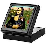 Mona's Doberman Keepsake Box